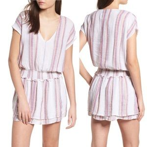 Rails Lucca Dress in Havana Stripe